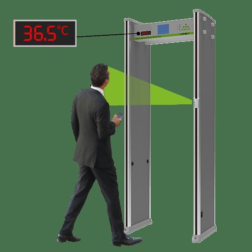 Nexlar Body Temperature Detector