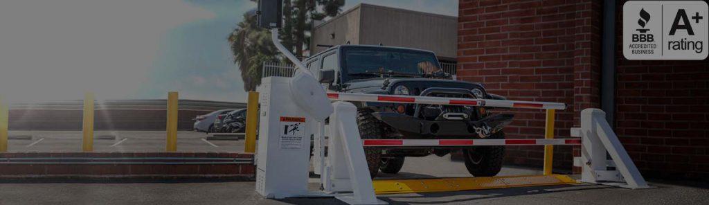 Nexlar Automatic Security Gate Banner