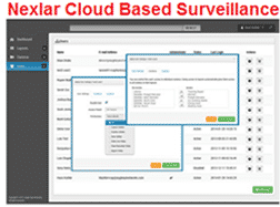 Nexlar Cloud Based Security System Layouts