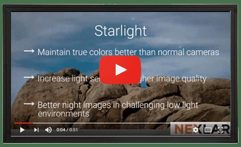 Starlight Cameras Technology - Nexlar