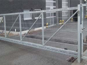 Nexlar Heavy Slide Gate Security