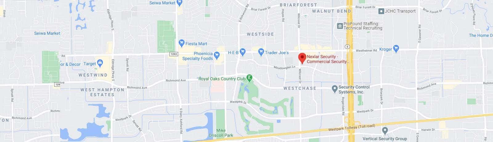 Nexlar Security Google Map